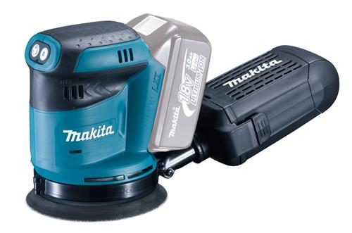 Produktbilde for Makita Eksentersliper 18V 125mm u/batteri og lager