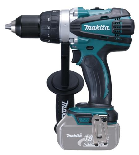 Produktbilde for Makita borskrutrekker 18V 3,0Ah 2 gir u/ batteri/lader 91 Nm
