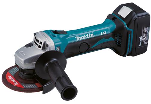 Produktbilde for Makita vinkelsliper 115mm 18V 4,0Ah