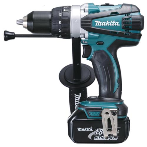 Produktbilde for Makita slagboremaskin 18V u/ batteri og lader 91 Nm
