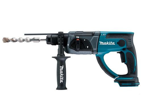 Produktbilde for Makita borhammer 18V SDS-Plus u/ batteri og lader