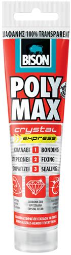 Produktbilde for Bison Polymax Chrystal Express 115ml transparent