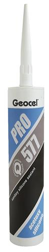 Produktbilde for Geocel Pro sanitærsilikon klar 280ml