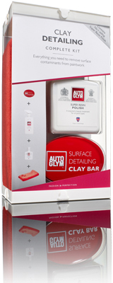 Produktbilde for Auto Glym surface detailing clay kit