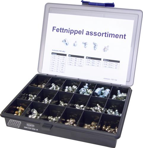 Produktbilde for Fettnippel assortiment