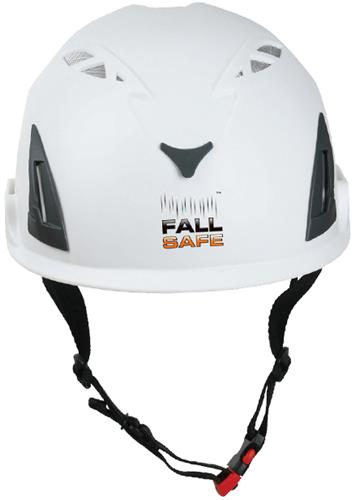 Produktbilde for Fall Safe Orbit klatrehjelm hvit 51-62cm