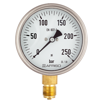 Produktbilde for Industri manometer/vacuumeter Type D4 uttak ned