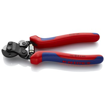 Produktbilde for Knipex wire- og kabelsaks 160mm ergo