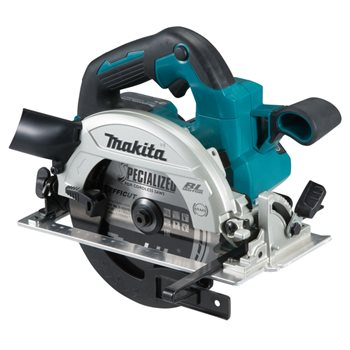Produktbilde for Makita sirkelsag børsteløs 18V 165mm u/ batteri og lader