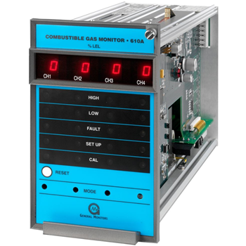 Produktbilde for Four Channel Combustible Gas Monitor
