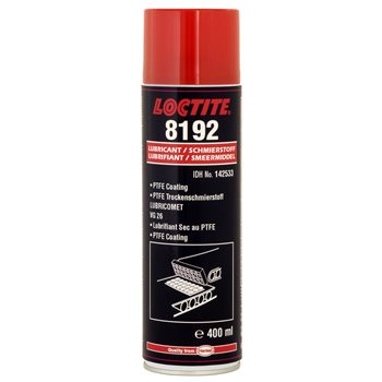 Produktbilde for Loctite PTFE-spray næringsmiddelgodkjent 8192 400ml