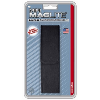 Produktbilde for Beltefeste for Mag-Lite Mini AA nylon Sort