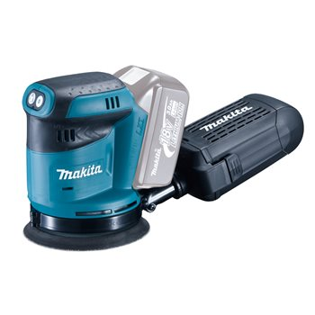 Produktbilde for Makita Eksentersliper 18V 125mm u/batteri og lader