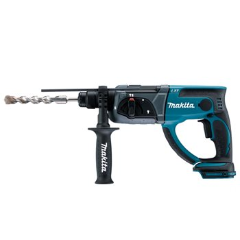 Produktbilde for Makita borhammer 18V SDS+ u/ batteri og lader