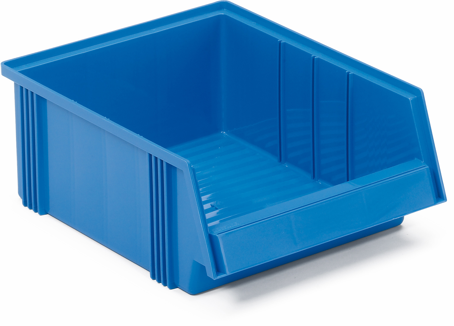 Produktbilde for Treston® Plastboks 400x310x156mm blå