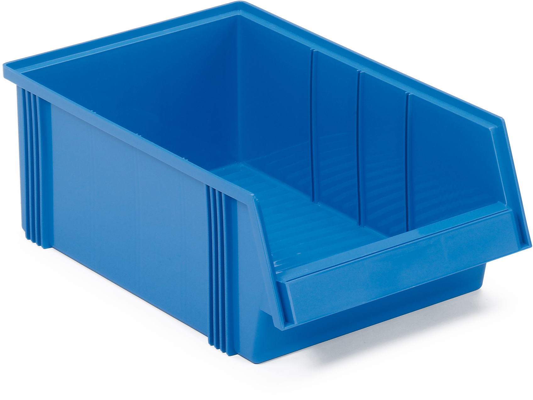 Produktbilde for Treston® Plastboks 500x310x156mm blå
